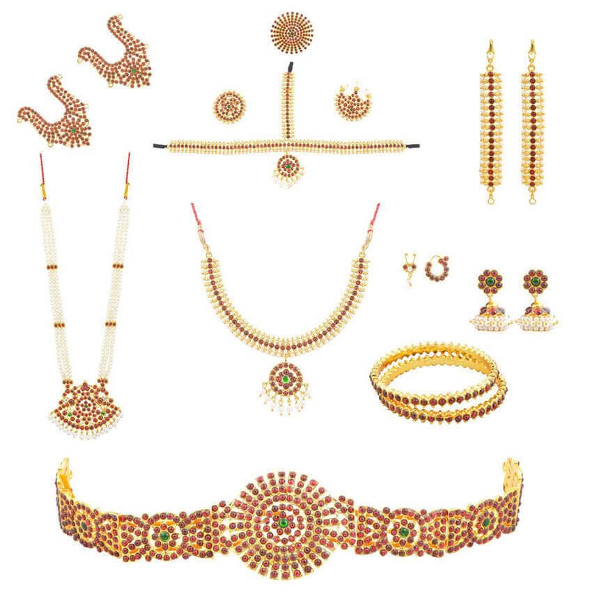 Indijski ples nakit