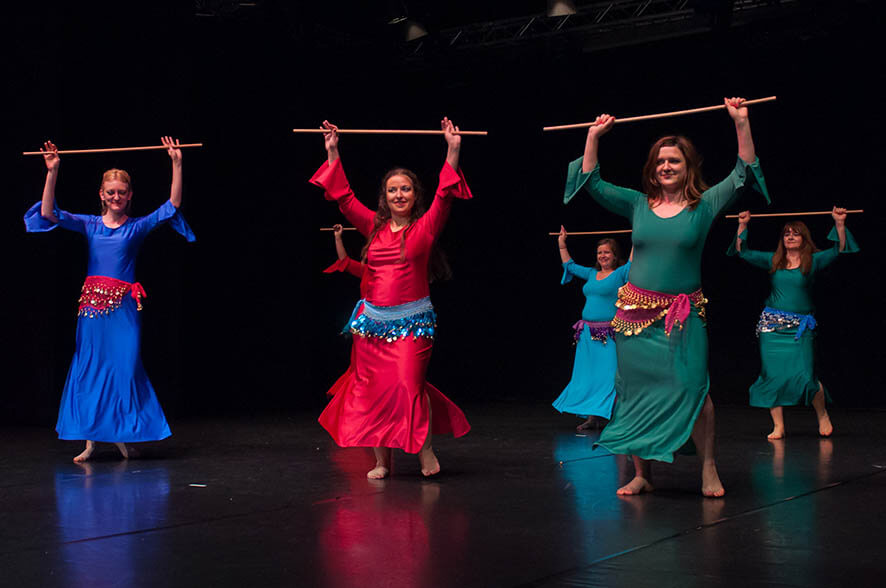Orientalski ples - nadaljevalni