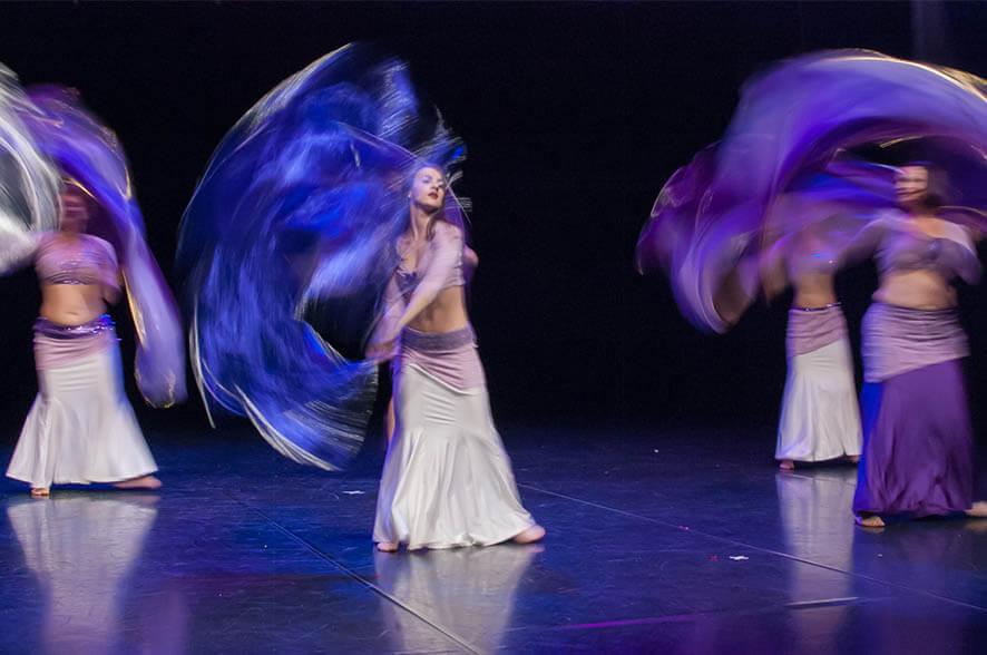Orientalski ples - srednji