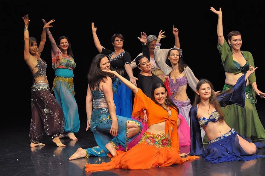 Orientalski ples zacetni